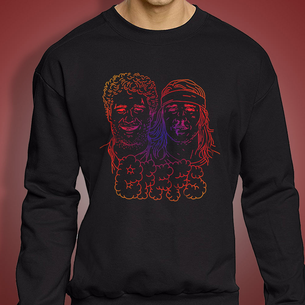 Seth Rogen And James Franco Bfffs Art Men'S Sweatshirt