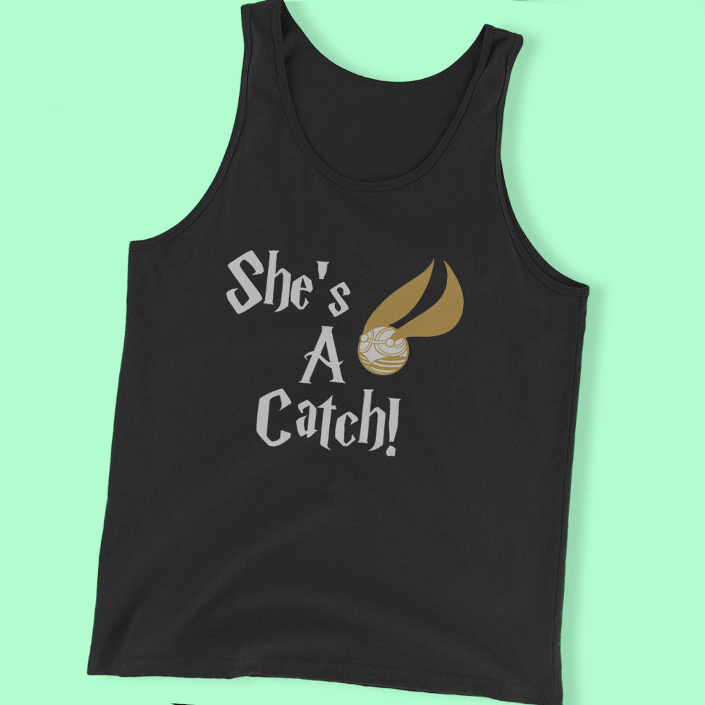She'S A Catch   Harry Potter Inspired Men'S T Shirt
