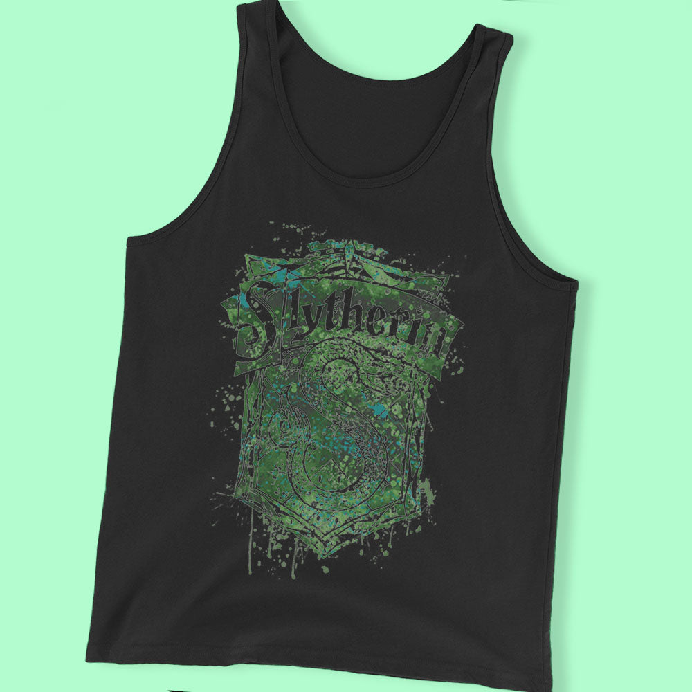 Slytherin Crest Poster, Harry Potter House Men'S T Shirt