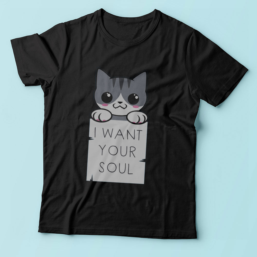 Soul Kitty Animal Quote Men'S T Shirt
