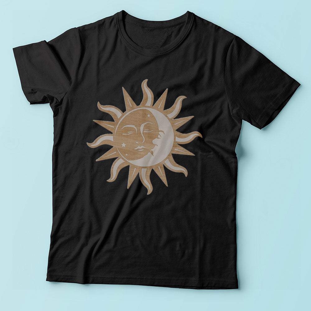 Sun And Moon Men'S T Shirt