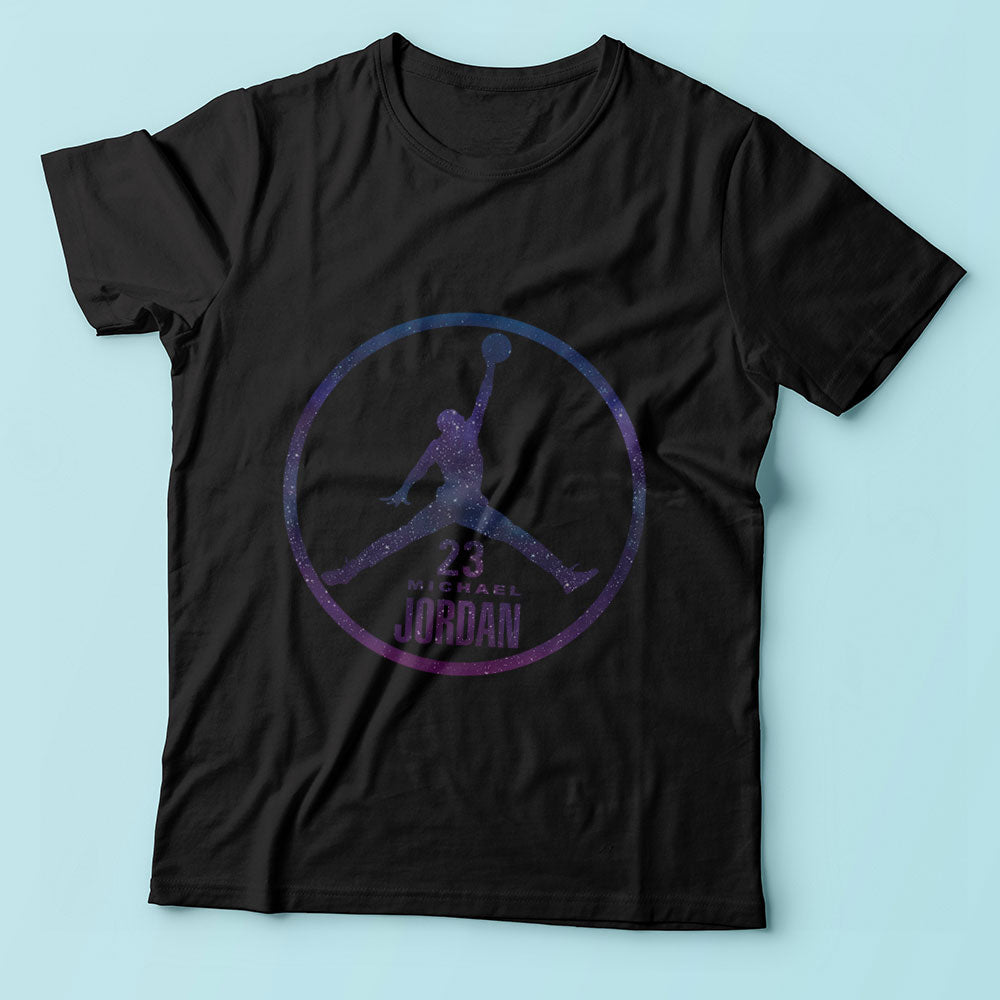 Michael Jordan 23 Galaxy Parody Men'S T Shirt
