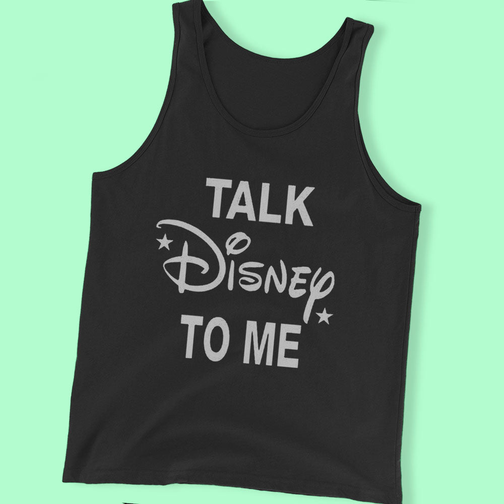 Talk Disney To Me,Disney Family Men'S T Shirt