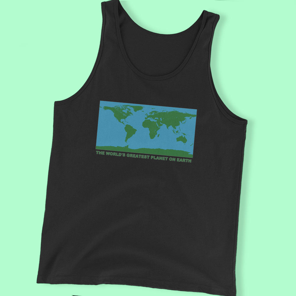 The World'S Greatest Planet On Earth Men'S T Shirt