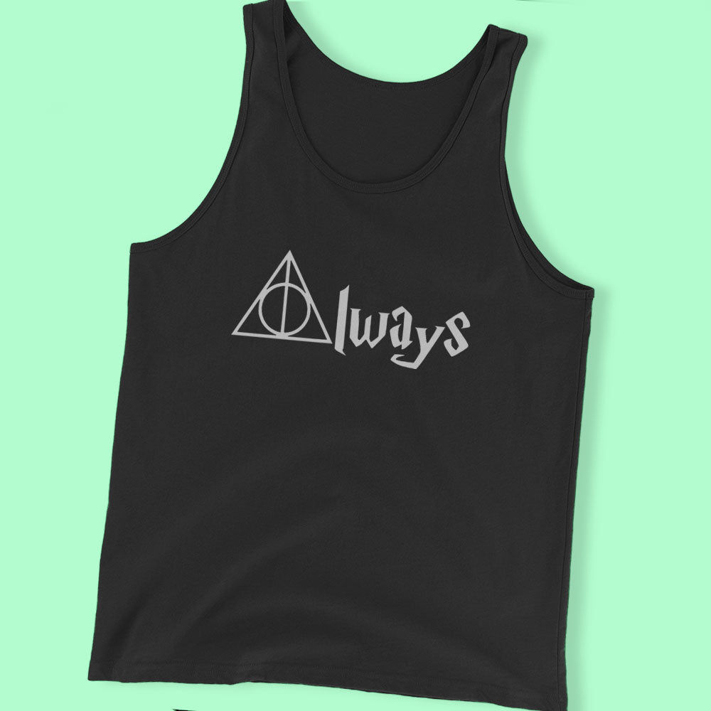 Always Symbol Harry Potter Men'S T Shirt