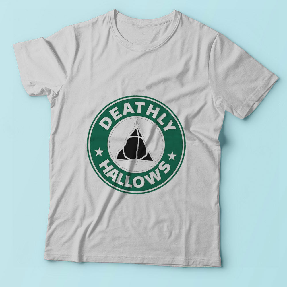 Deathly Hallows Starbuck Logo Men'S T Shirt