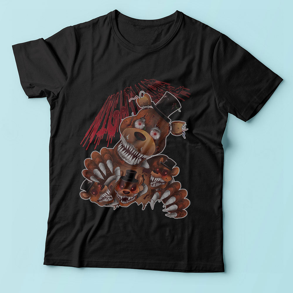 Five Nights At Freddys Nightmare Freddy Men'S T Shirt