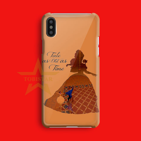 Belle Quote Beauty The Beast Disney   iPhone X Case