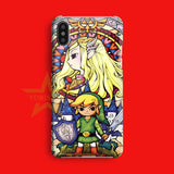 ZELDA WIND   iPhone X Case
