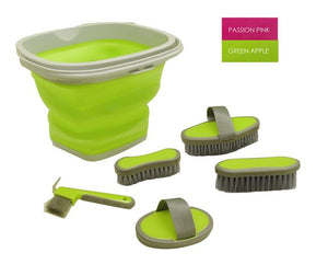 5 Piece Grooming Kit with Bucket