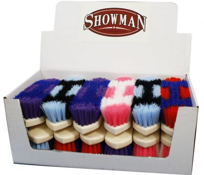 Showman Hard Bristle Brush