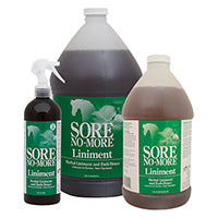 SORE NO-MORE Performance Liniment and Bath Brace