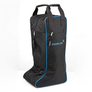 DUBLIN IMPERIAL TALL BOOT BAG BLACK/BLUE