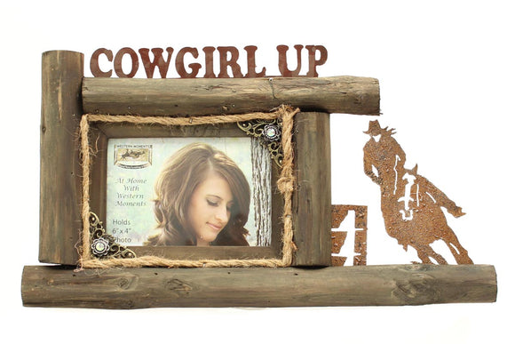 4x6 Cowgirl Up Frame