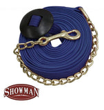 25' Cotton Web Lunge Line W/ Chain
