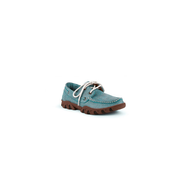 Turquoise Loafer