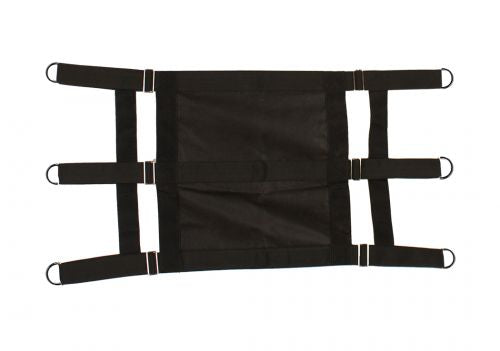 Solid Front-Nylon Stall Guard Black