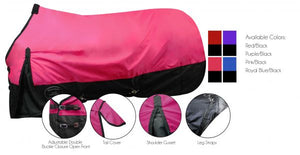 The Waterproof and Breathable ShowmaN  600 Denier Turnout Blanket