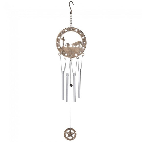 Wind Chime With Equine Motif