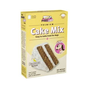 Puppy Cake Mix- Banana