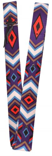 Nylon Tie Strap  Purple Diamond