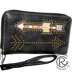 Arrow Zipper Wallet