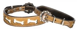 DOG COLLAR -SHOWMAN