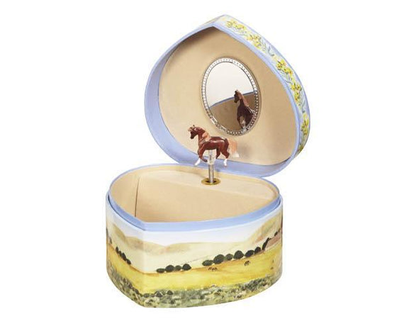 LOVE OF HORSES JEWELRY BOX