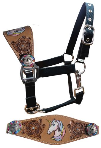 Pony Unicorn Bronc Halter