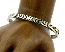 Navajo Bracelet .925 Silver & 14k Solid Gold MM Rogers and AS Cuff C.80's