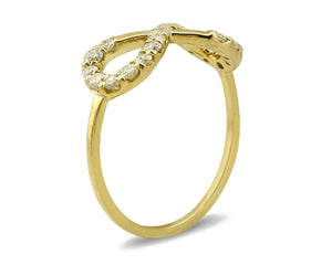 Women's Diamond Eternity Ring 14k Solid Gold 2/3 tcw Natural Mined Diamonds 4-10