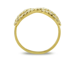 Women's Diamond Eternity Ring 14k Solid Gold 1.0 tcw Natural Mined Sizes 4-10