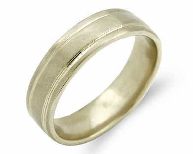Women's 5.15 mm Wide Band in 14k SOLID Rose Gold Ring Sizable 6