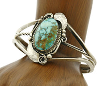 Women's Navajo Bracelet .925 Silver Royston Turquoise Cuff
