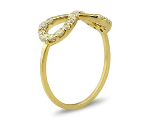 Women's Diamond Eternity Ring 14k Solid Gold 2/3 tcw Natural Mined Sizes 4-10