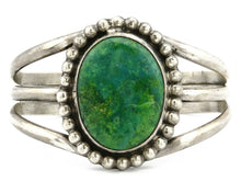 Women's .925 Silver Crescent Valley Turquoise Signed Jerry Roan C.80's