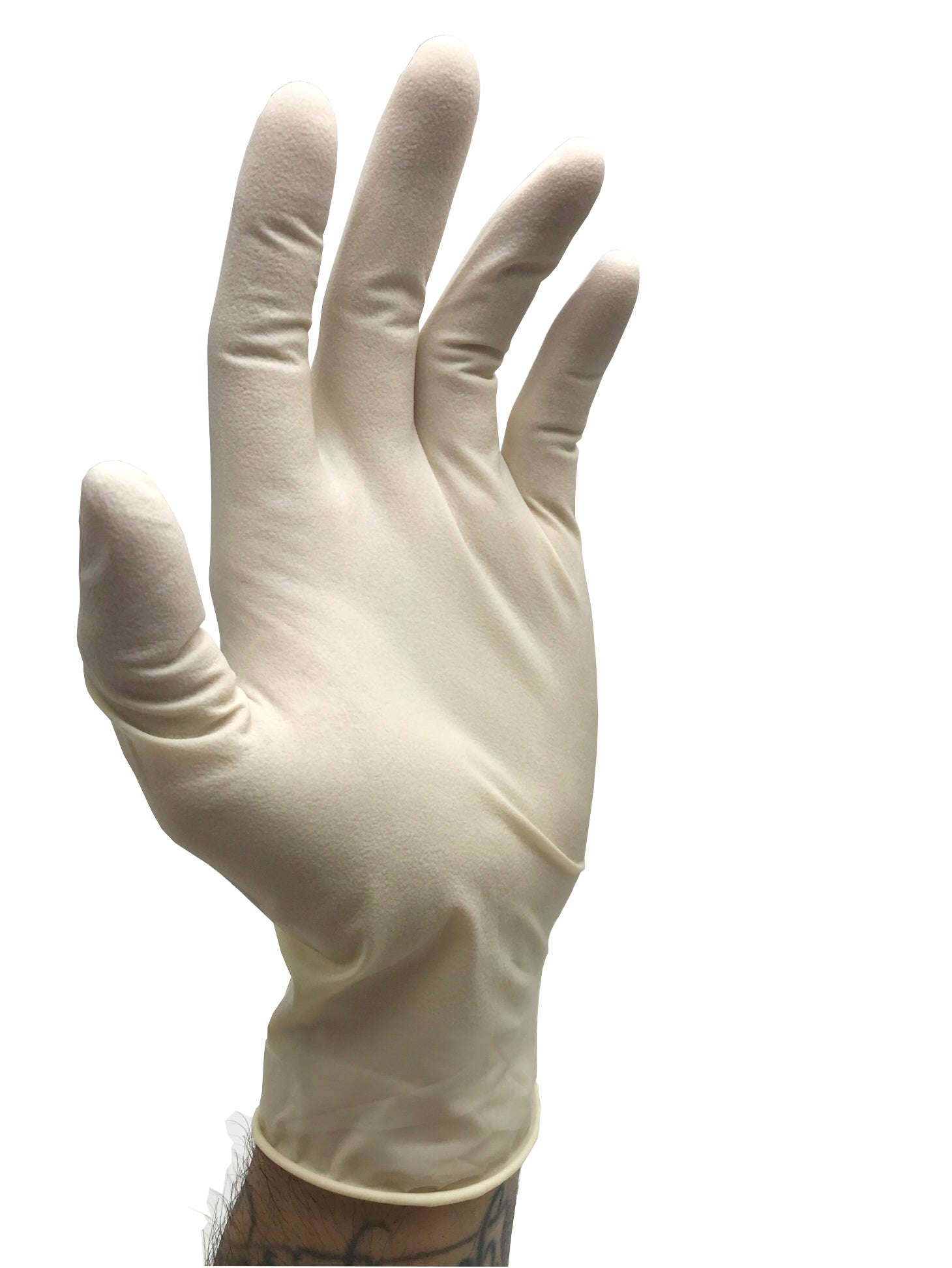 IRONLINE Textured Latex Gloves-Box of 100 Gloves