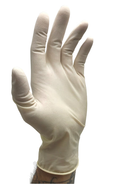 IRONLINE Textured Latex Gloves-Case of 1000 Gloves
