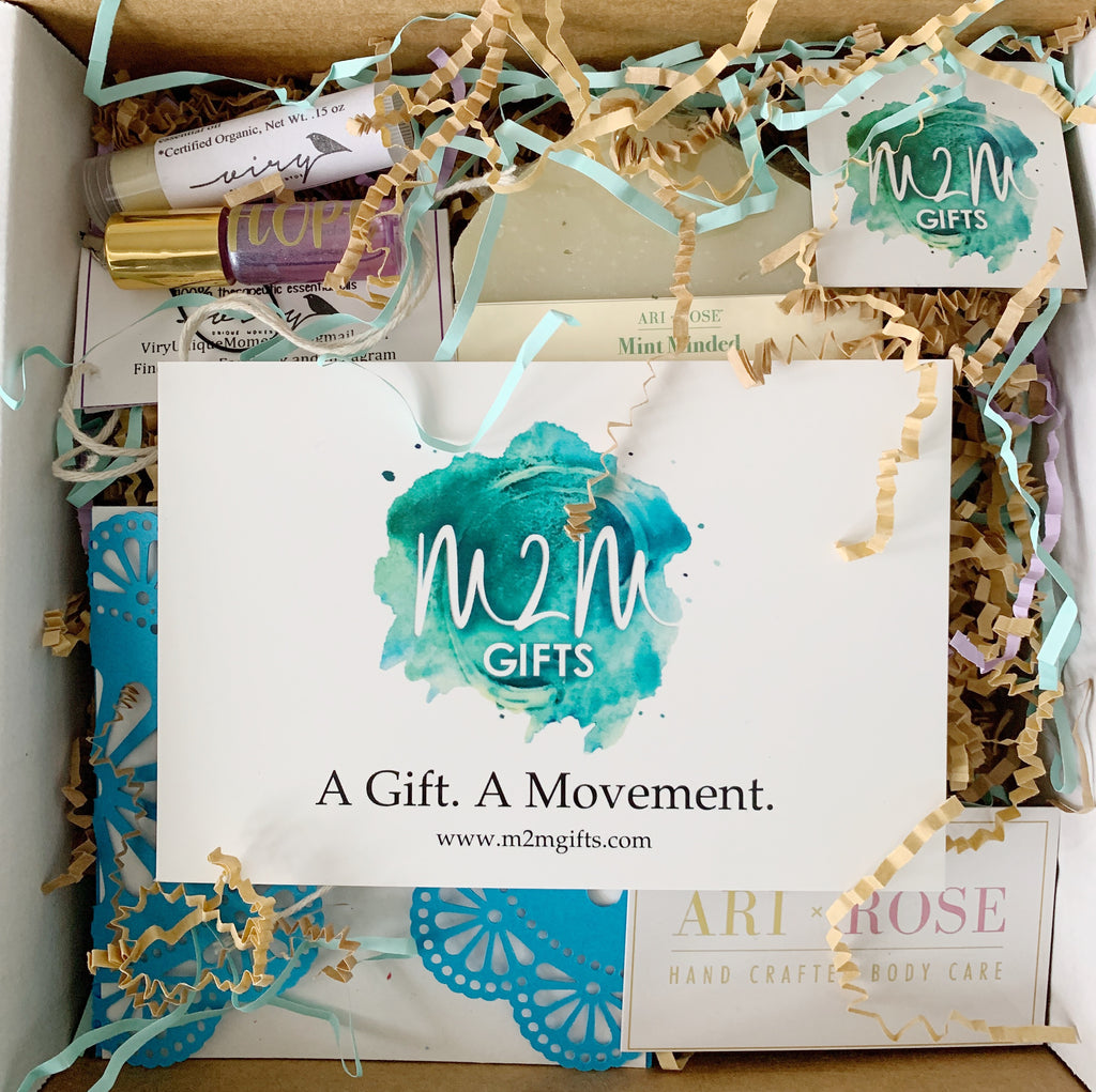 M2M Gifts Relaunch Box (April 2019)