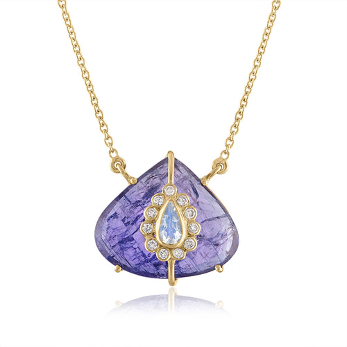 Pear Shape Tanzanite Pendant