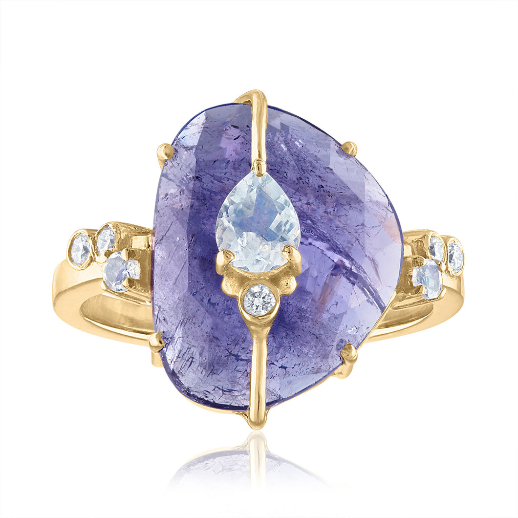 One of A Kind Tanzanite Ring