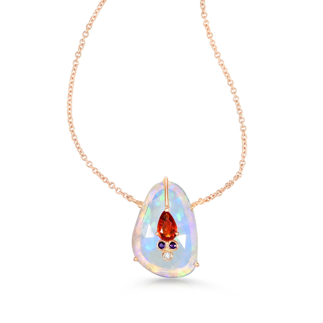 Organique Single Drop Pendant Necklace