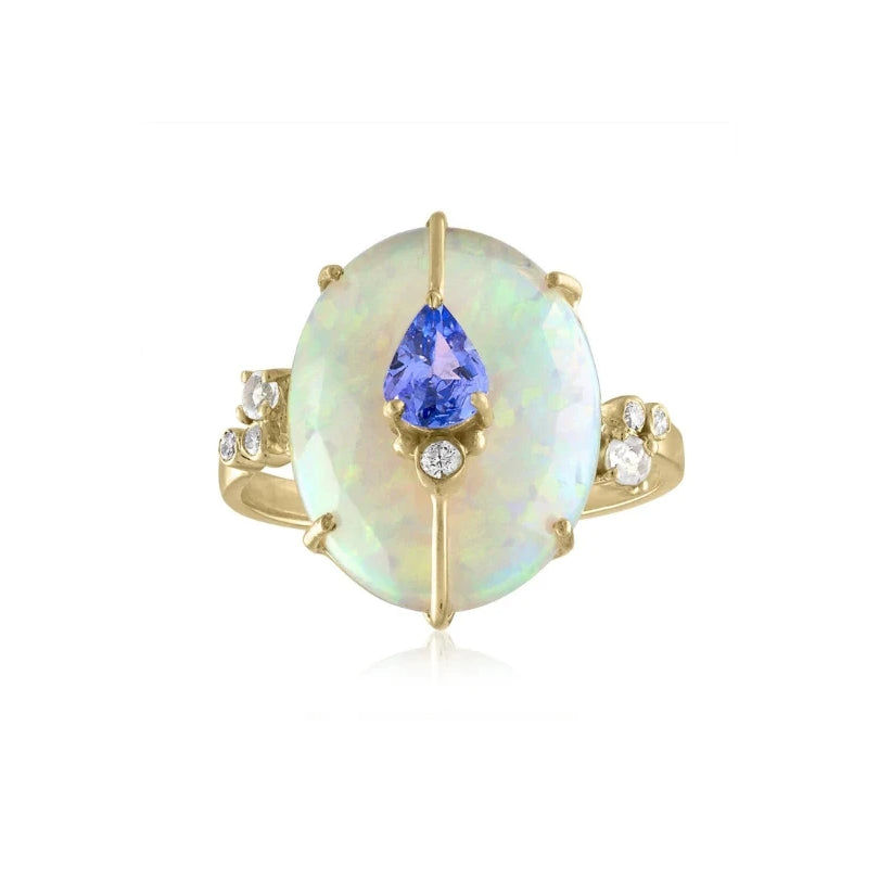 ONE OF A KIND ETHIOPIAN OPAL RING