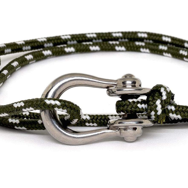 Kalymnos / Green Patterned / Silver - Kalymnos - Inspired by Rock-climbing - Topologie International