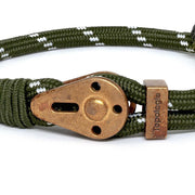 Yosemite / Green Patterned / Raw Brass - Yosemite - Inspired by Rock-climbing - Topologie International
