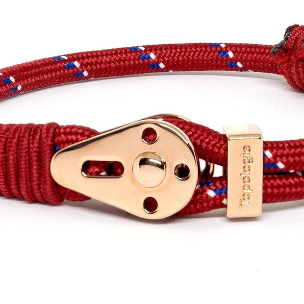 Yosemite / Red Patterned / Rose Gold - Yosemite - Inspired by Rock-climbing - Topologie International