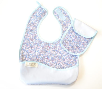 Bib Dining Apron in Liberty® Eloise - Happy Poppets