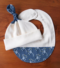 Bib Organic Cotton Baby Bib in Dandelion - Happy Poppets