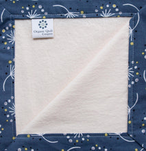 Organic Blanket Organic Cotton Bound Edge Blanket in Dandelion - Happy Poppets