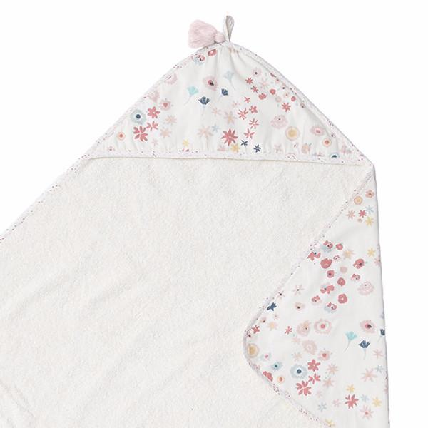 Towel Meadow Hooded Towel - Happy Poppets